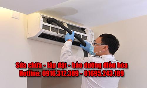 Sửa chữa lắp đặt bảo dưỡng điều hòa ở Đại Từ