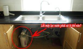 Cách khắc phục sự cố máy lọc nước tại nhà