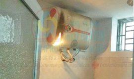 Bình nóng lạnh rò điện